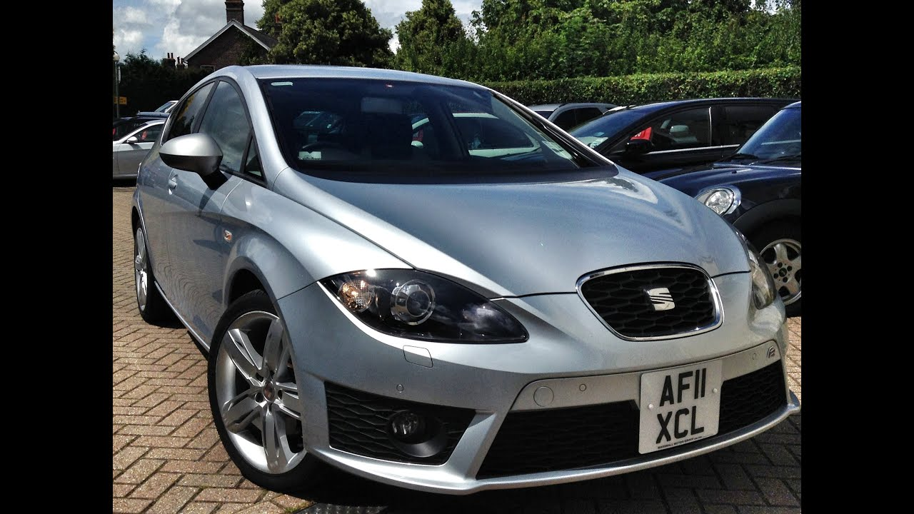 seat leon 2 0 tdi cr fr 5dr sold by cmc cars youtube. Black Bedroom Furniture Sets. Home Design Ideas