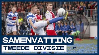 HIGHLIGHTS | Spektakel in Spakenburgse derby