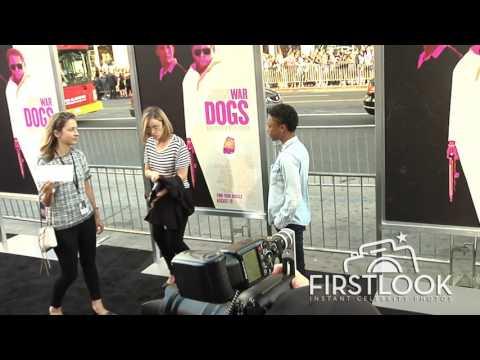 Samira Wiley, Lauren Morelli at War Dogs LA premiere