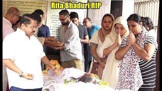 TV Actress Rita Bhaduri Funeral Full video | Rita's Family & TV Celebs Break Down In Last Rites