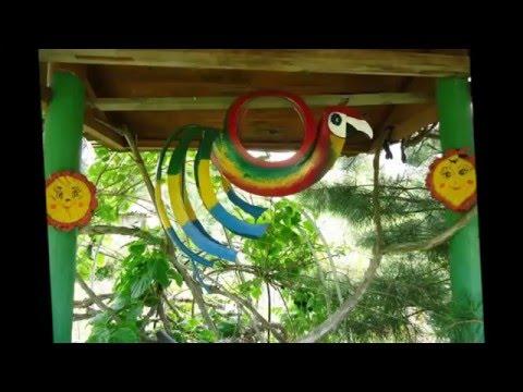 Идеи для дачи  Декор сада своими руками