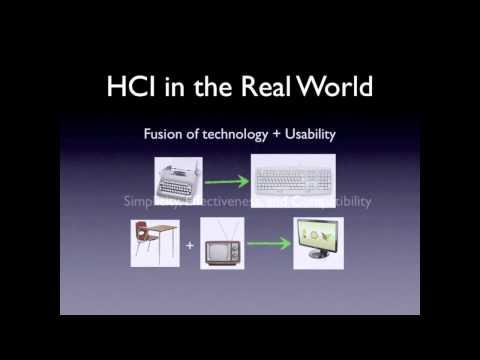 2 Human and Computer Interaction  Past, Present, Future 7 min 31 sec