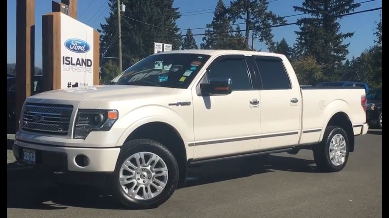 Ford F  Platinum Leather Heated Cooled Seats Nav Review Island Ford