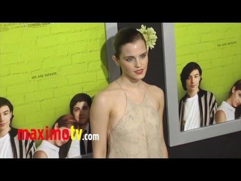 "Emma Watson at ""The Perks of Being a Wallflower"" Premiere ARRIVALS"