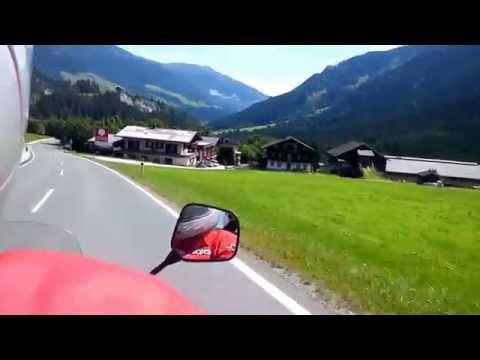 Moto drive in Wildkögel arena AUSTRIA