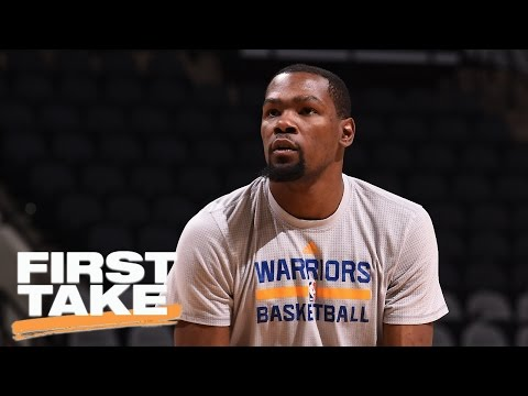 Stephen A. And Max Get Into Heated Debate Over Kevin Durant | First Take | April 4, 2017