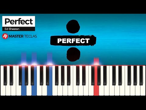 💎 Perfect - Ed Sheeran  Piano Tutorial 💎