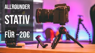 Manfrotto Pixi Mini Tischstativ - Unboxing & Review (Deutsch)