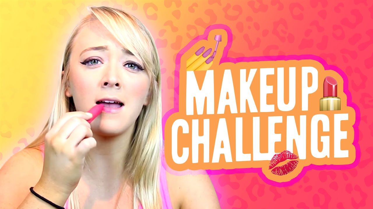 c263359dd45 No Mirror Makeup Challenge | Meghan McCarthy - YouTube