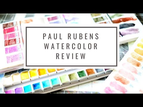Paul Rubens Metallic Watercolors First Impressions Swatches