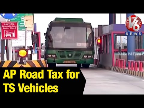 AP government issue orders to collect transport tax for inter state vehicles - Hyderabad(25-04-2015)