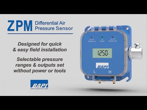 ZPM Pressure Sensor Overview