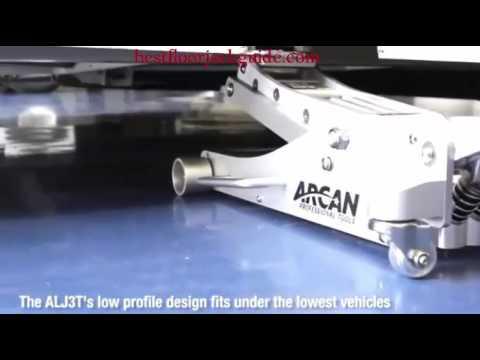 Arcan Alj3t Aluminum Floor Jack 3 Ton Capacity