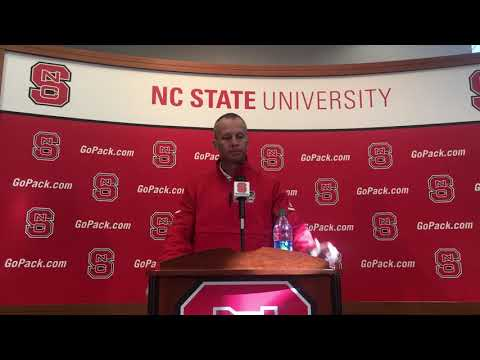 Doeren Press Conference Ahead of Senior Day/UNC