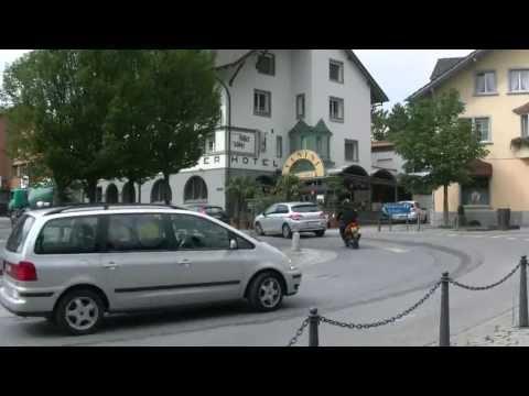 アキーラさん散策④リヒテンシュタイン・ファドゥーツ市街Vaduz,Liechtenstein