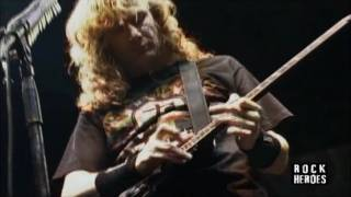 Megadeth - 09 Burnt Ice(Live In Usa)(1080p)(HD)