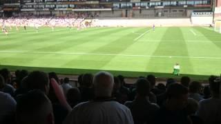 Sex doll at football match