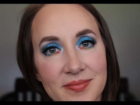 Easy Rainbow Dash Makeup Tutorial