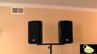 Dual Speaker Bracket Dual speaker Mount for DJ Stands - On-Stage Stands Speaker Stands.wmv