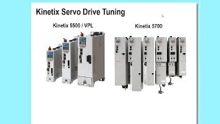 How to Tune a Kinetix CIP Motion Servo Drive Using Studio 5000®  Software