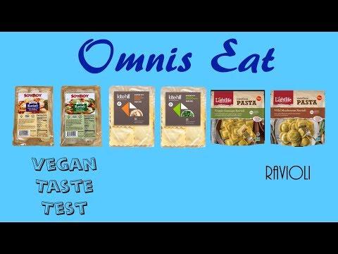 Vegan Taste Test – Vegan Ravioli
