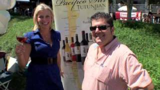 Wine For Blondes: Episode 32: A Rare Chilean Carmenere Rose at the Malibu Food & Wine Festival
