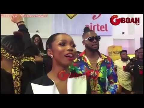 Bambam,Teddy &Others Former BBNaija Housemates Reacts To Tobi's Eviction In Lagos Live Viewing