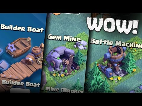 BUILDER BOAT? GEM MINE, NEW HERO AND SECRET UPGRADES! | Clash of Clans