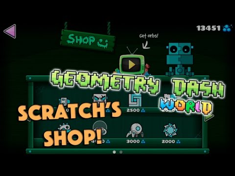 geometry dash scratch shop items