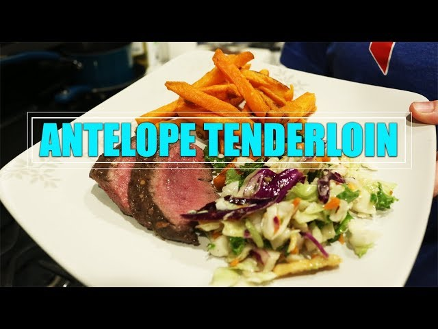 #Run2GunRecipes 009 || Antelope Tenderloin
