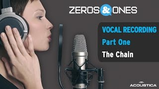 Download Zeros & Ones: Recording Vocals, Pt. One - The Chain MP3 song and Music Video
