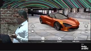 De l'unité à la GDC - Premier coup d'oeil à l'Unité 2018 mobile AR caractéristiques clés