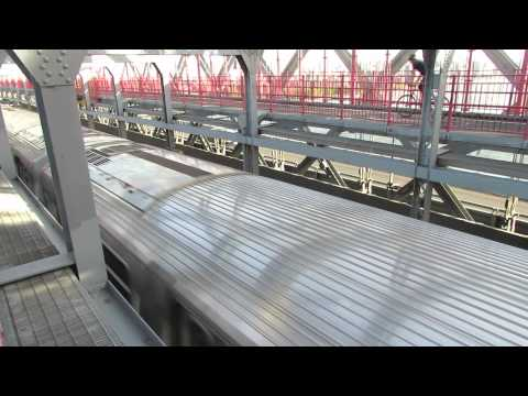 A Walk Across the Williamsburg Bridge on Friday May 17, 2013, Part 1 of 2.