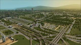 Cities: Skylines - Building a Mega City (Timelapse 0-120K Cims)