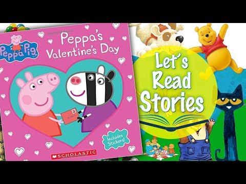 Peppau0027s Valentineu0027s Day (Peppa Pig)   Childrenu0027s Valentineu0027s Day Stories  Read Aloud For Kids