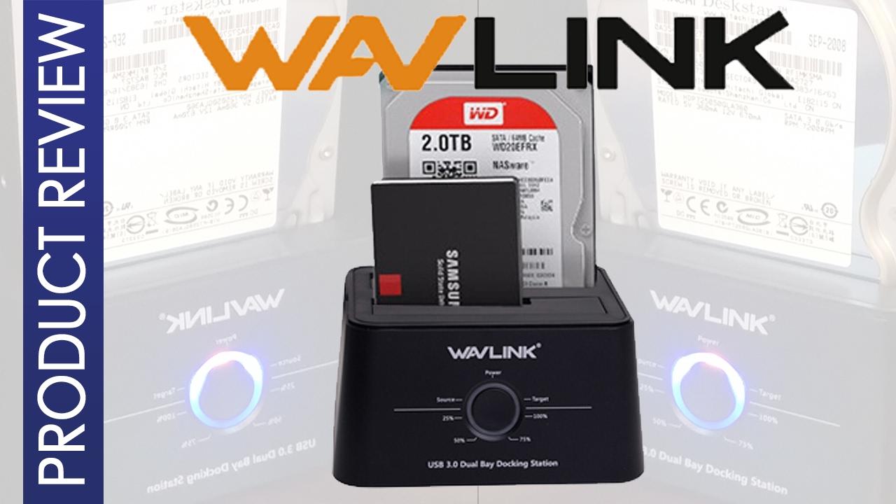 Cinolink USB 3.0 To SATA Single Bay Hard Drive Docking Station For 2.5//3.5 HDD