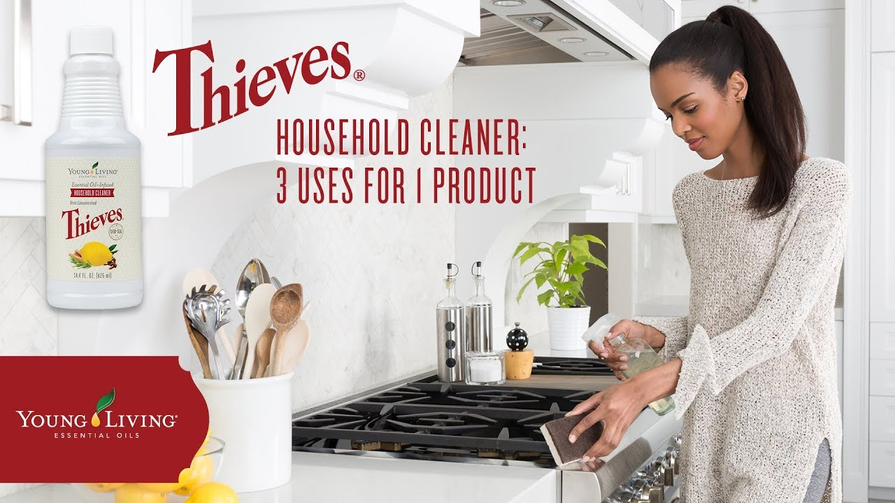 3 Innovative Ways to Use Thieves Household Cleaner