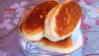 Жареные Пирожки на Дрожжевом Тесте / Пирожки с Картошкой / Пирожки с Капустой  (Вкусные и Пышные)