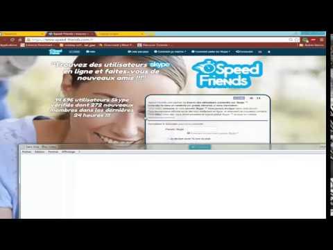 Rencontre des amis sur skype