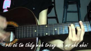 [V Nguyen] - Cho em - Wanbi Tuấn Anh (guitar cover)