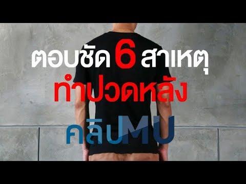 ตอบชัด 6 เหตุทำปวดหลัง : คลิป MU [by Mahidol]