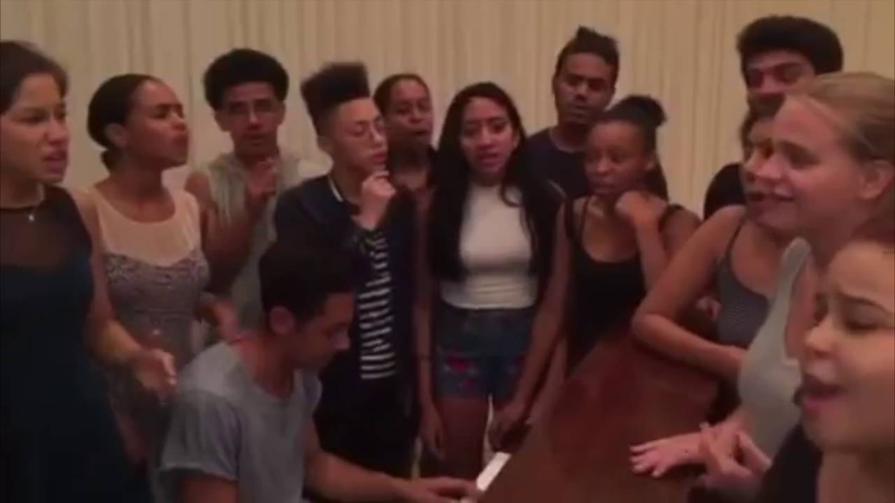 Rosie's Theater Kids Sing HAMILTON - YouTube