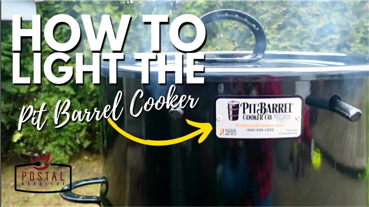 pit barrel cooker lighting how to light the pit barrel cooker