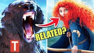 The Secret History Of Disney's Merida From Brave