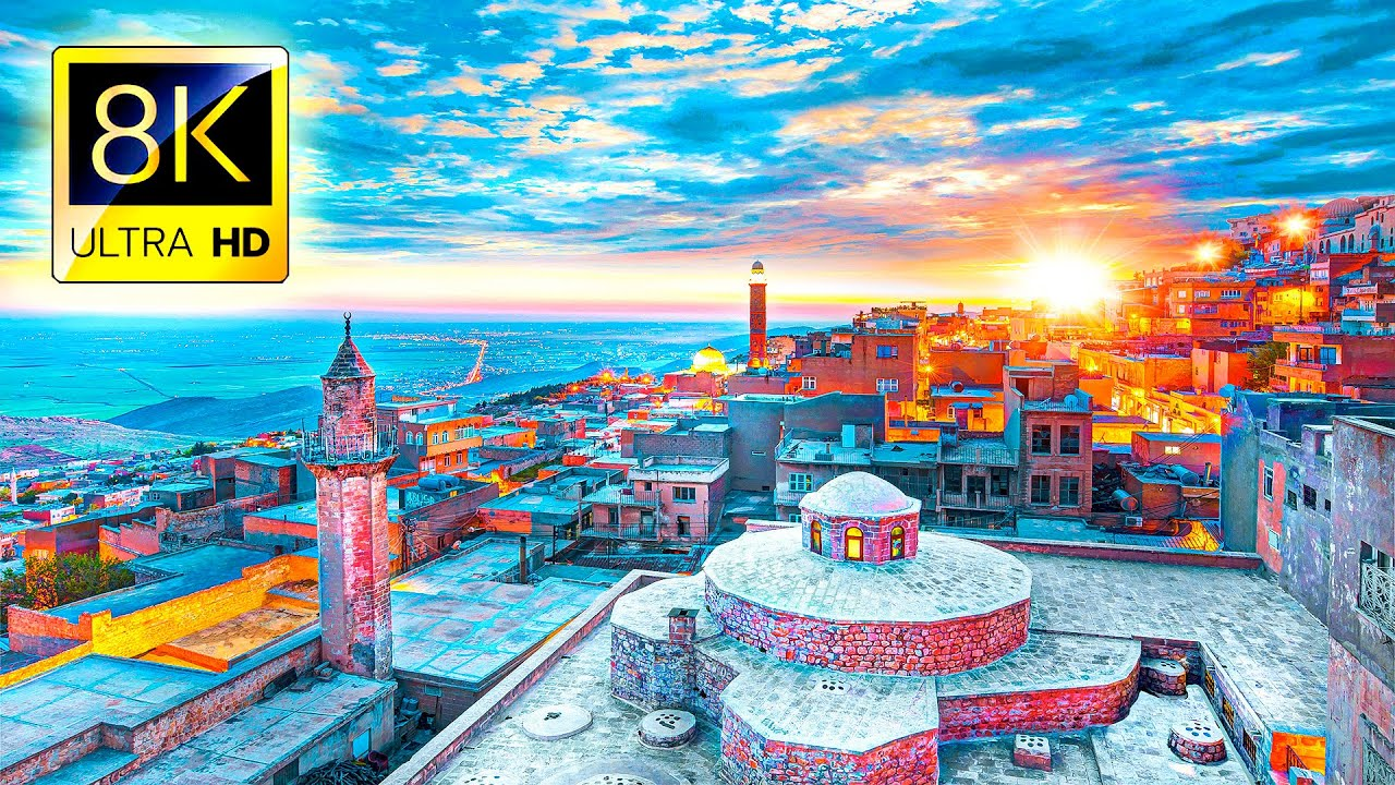 Stunning Trip to TURKEY in 8K ULTRA HD - Travel Best Places in Turkey with Relaxing Music 8K TV