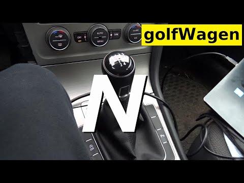 VW Golf 7 Neutral Gear Sensor Check Measurement On VCDS-VAG