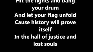 99 Revolutions- Green Day (lyrics)