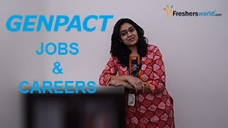 Genpact – Recruitment Notifications, IT Jobs, Walkin, Career, Oppurtunities, Campus placements