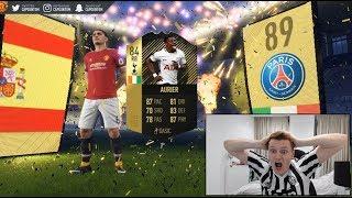 OMFG I GOT HIM TWICE!!! INSANE FIFA 18 TOTW PACK OPENING!!!