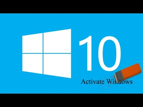 how to remove windows 10 activation watermark